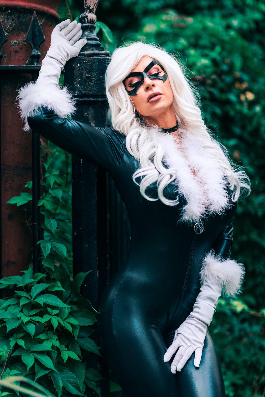 Ireland Reid Black Cat Cosplay