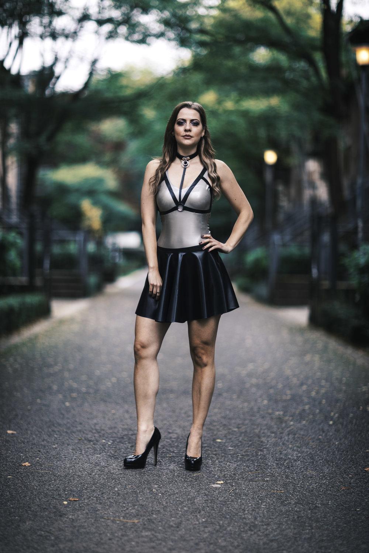 Charlotte Andrews - Latex Model and Designer