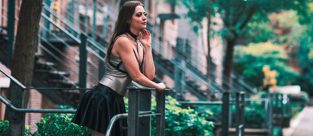 Charlotte Andrews - Latex Model