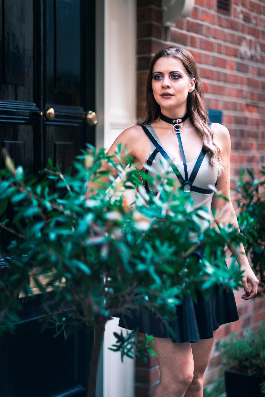 Charlotte Andrews Latex Fashion Shoot by Spencer J. Sinclair