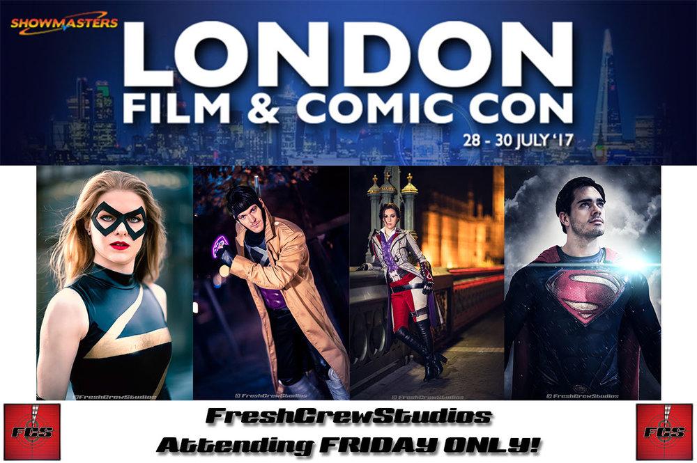 London Fim and Comic Con 2017