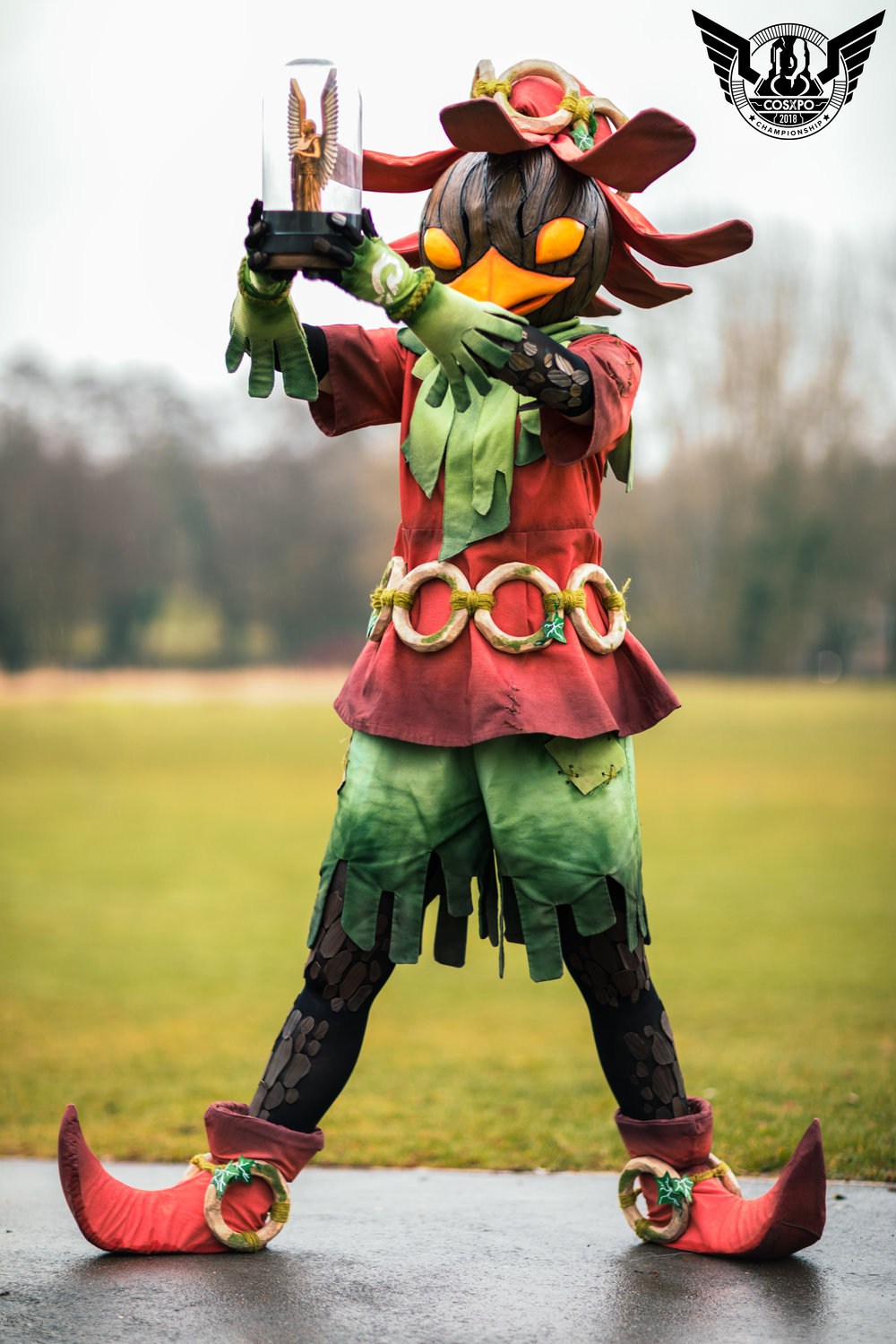 CosXPo 2018 Championship Winner. Skull Kid from Legend of Zelda by Kaldorei Cosplay