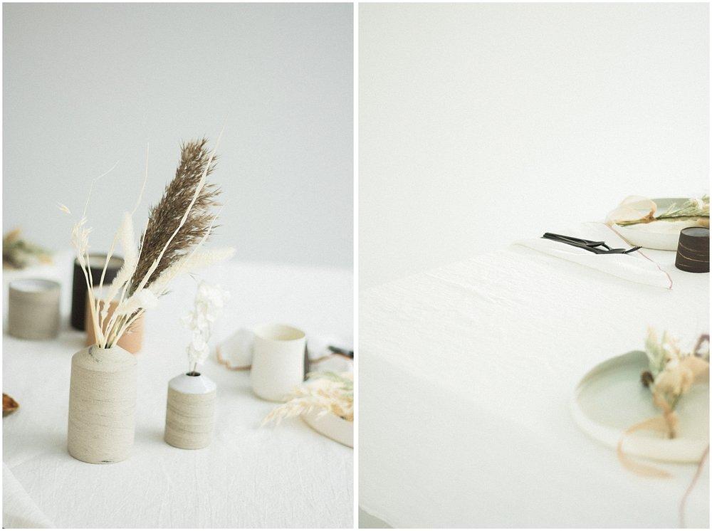 minimalist details from parisians floral designer