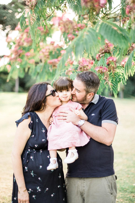 Famille Allal - Parc Montsouris