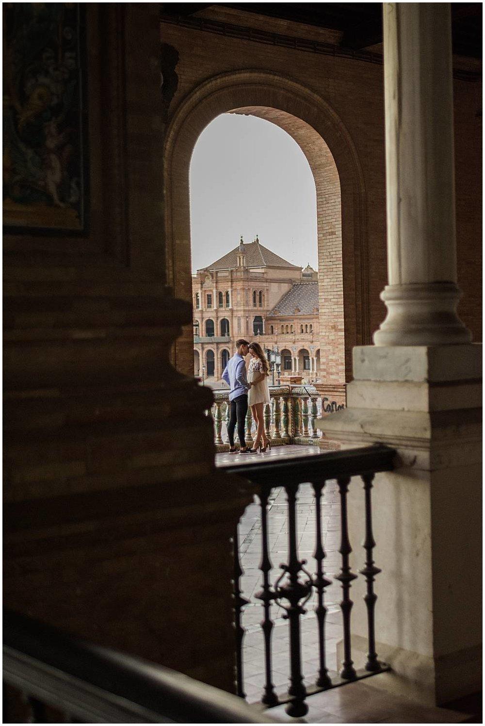 Couple shoot in Seville