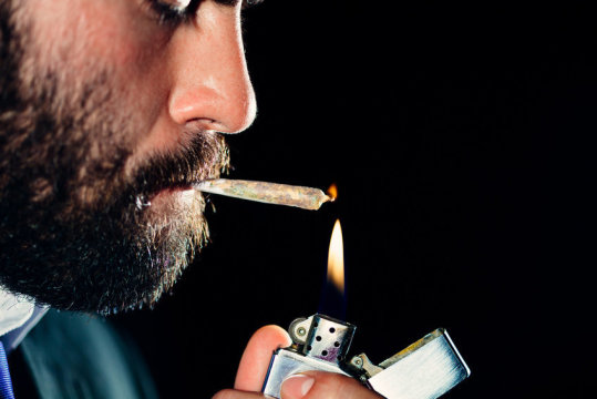 I'm a joker, I'm a smoker, I'm a midnight toker.
