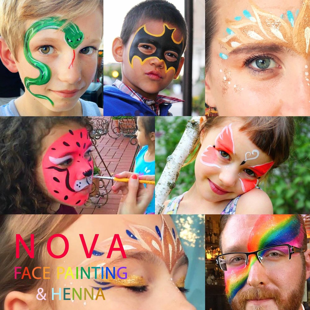 NOVA FACE PAINTING AND HENNA