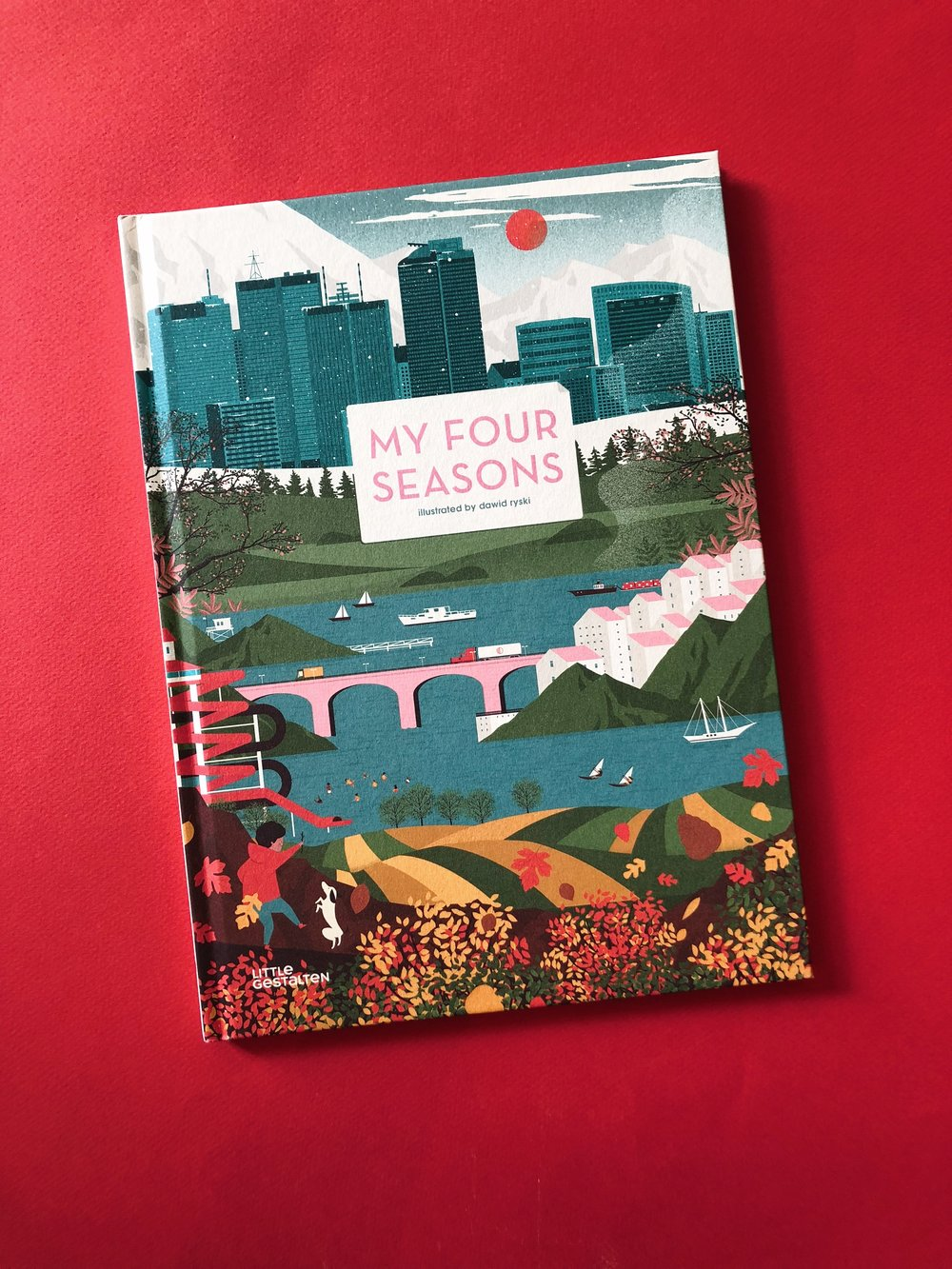 My Four Seasons - A story about Spring, Summer, Fall, and Winter.