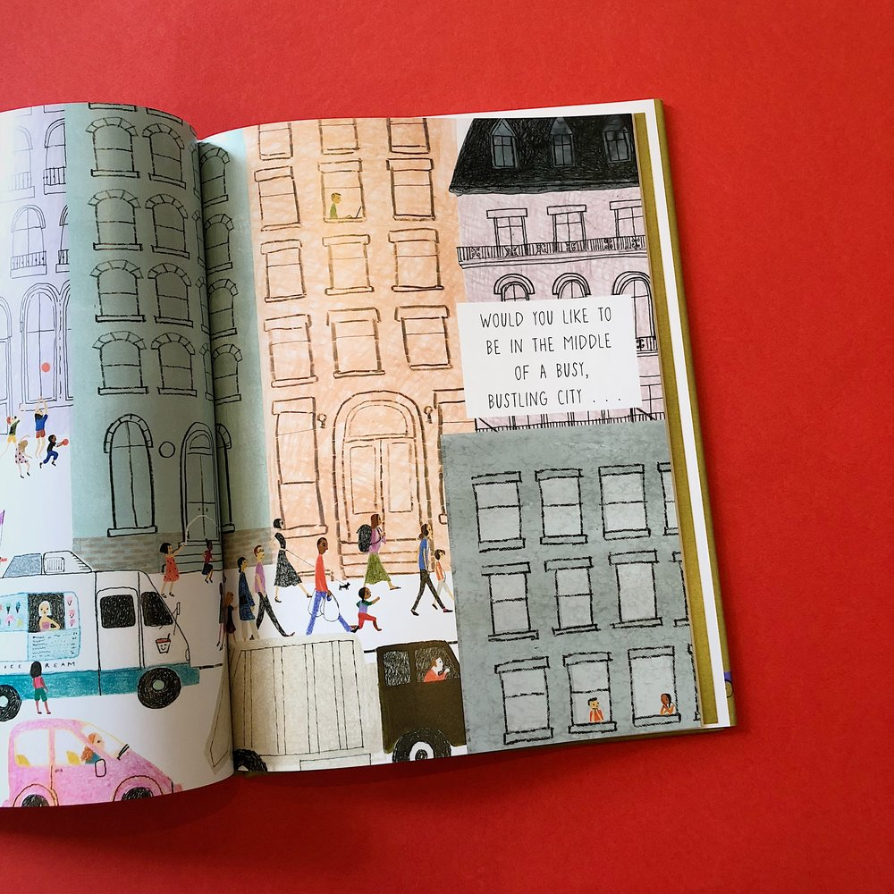 Julie Morstad does an amazing job writing and illustrating books. This one is definitely one of our favorites by her, but let's be real, they are all great!  Through the beautiful illustrations, a story is told about what one does during a day. From getting dressed to choosing what to wear, the book engages the reader to express how they would live their day!