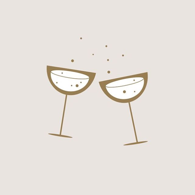 ✱ Cheersing the weekend with a little custom illustration I recently did for the fabulous @occasion.queens because if you can't start the weekend with a little fizz then when can you 🙋🏼♀️ Happy Friday loves 🥂✨