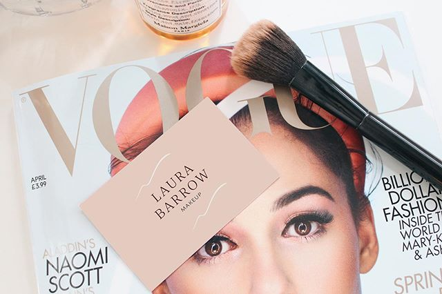✱ Happy Friday folks, I hope you've all had a happy productive week? ✨  Apologies for my radio silence, I've been busy working behind the scenes on a couple of client projects, as well as adding lots of exciting stuff to my portfolio like this branding project from the fabulous @laurabarrowmakeup  My portfolio has well and truly needed an update and I'm also changing a few things up on my website which I'm S U P E R excited for!  Keep your eyes peeled on my stories over the next couple of weeks as I'll be sharing parts of the process as I go. Now I'm off for a pub dinner and a glass of wine with the lovely other half. I love working from at home but come Friday night I'm definitely ready to get out and about!🥂✨