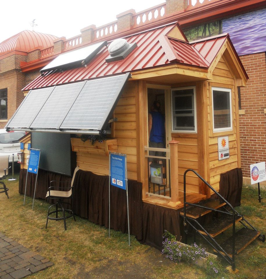 Solar Tiny House - 4 Types of Solar Energy$150/day