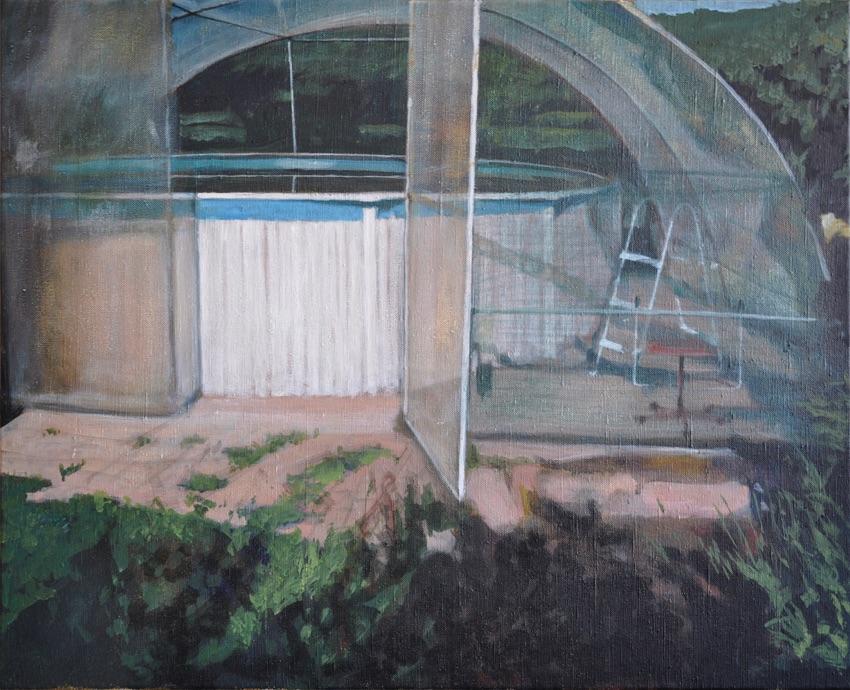 swimming pool I, 2015