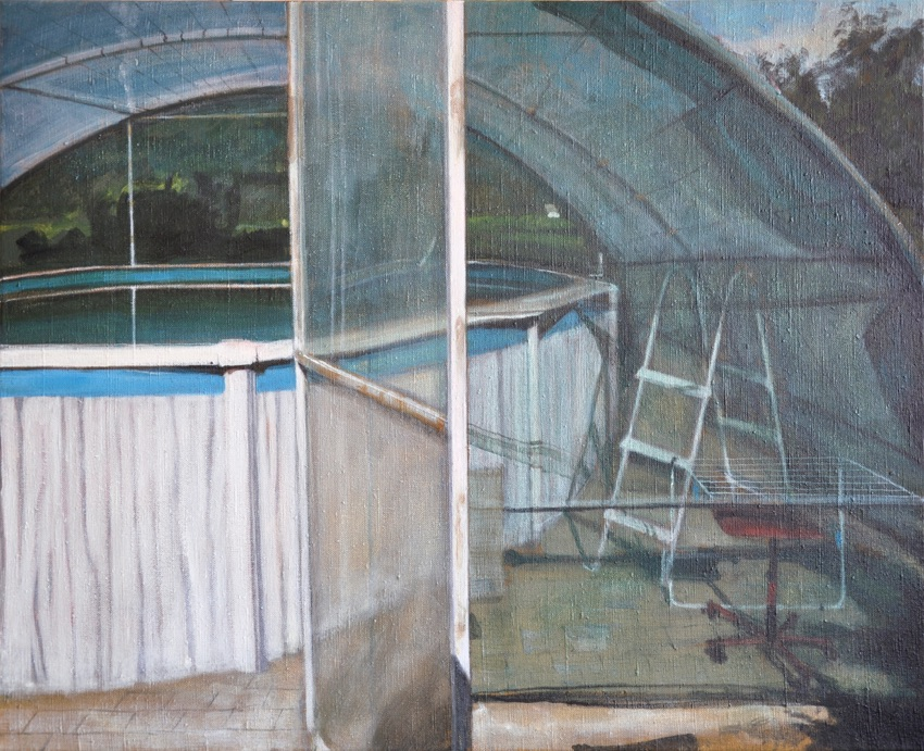 swimming pool II, 2015