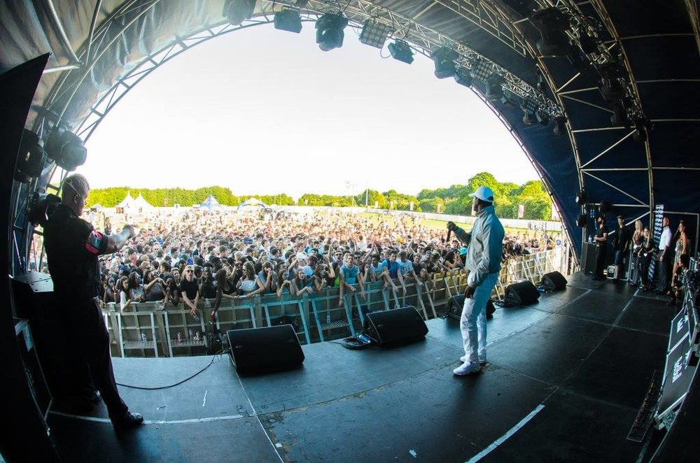 Skepta wows the crowds at S&C 2015