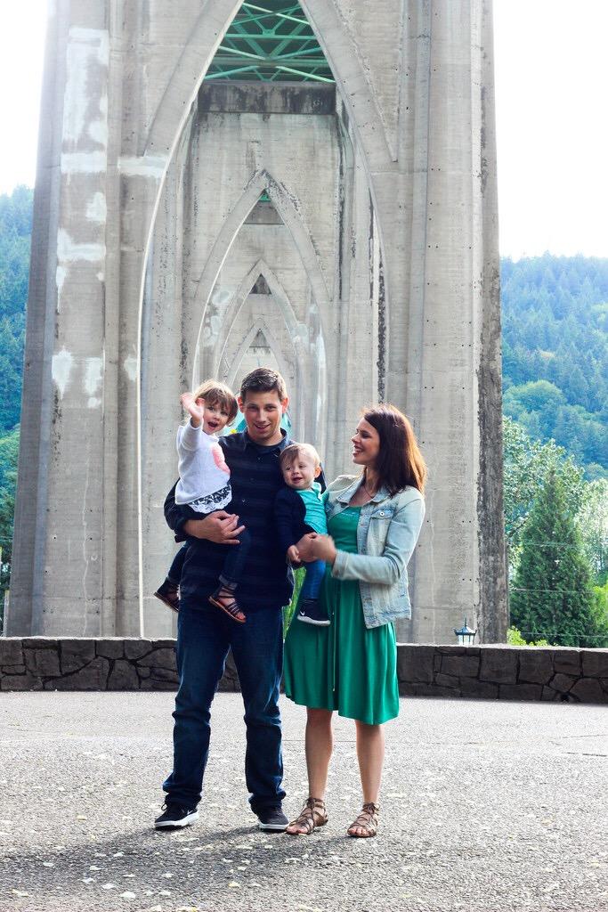 Jonas Johnson and family.