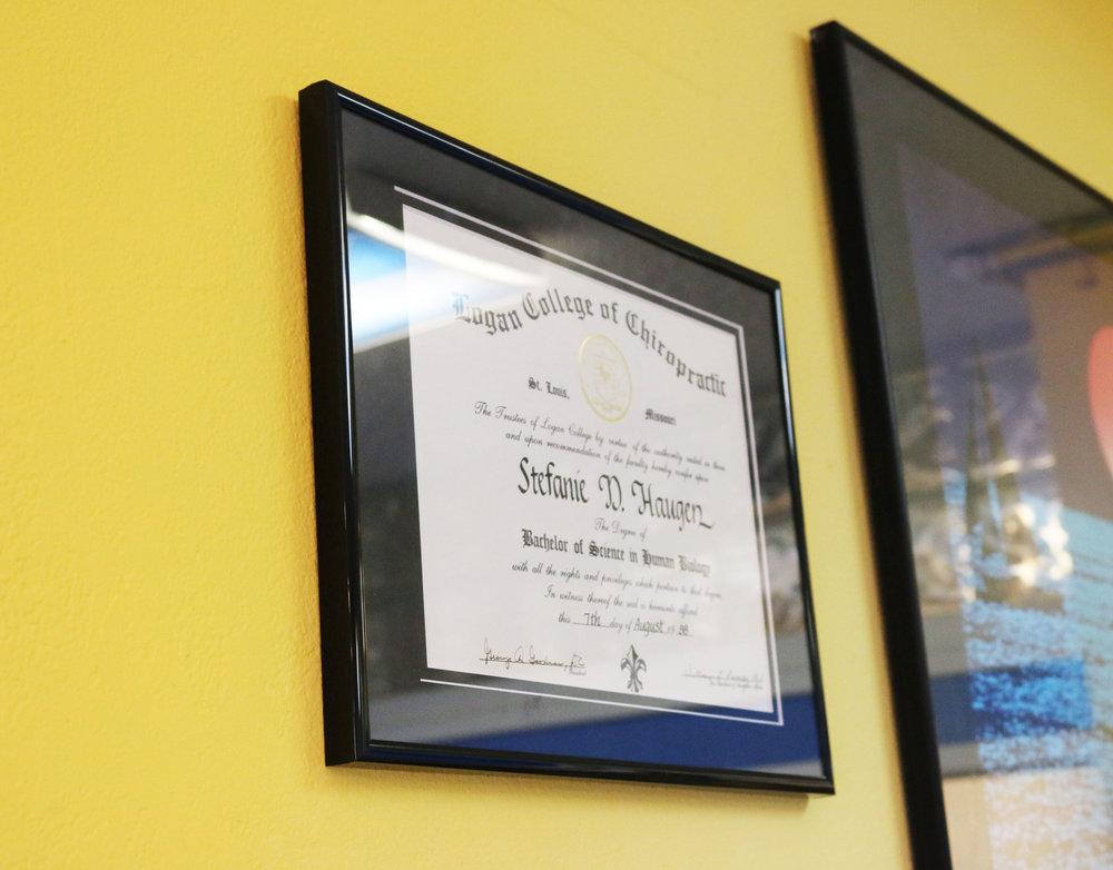 Dr. Stefanie Haugen Desautel chiropractic west seattle - certification.jpg