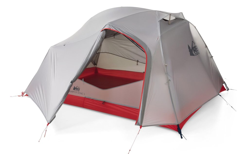 The purchase of this tent was a direct response to my complaints of my Passage 2 tent. I wanted more room for a second person with less weight.  sc 1 st  Backcountry Emily & REI Quarter Dome 3 Backpacking Tent u2014 Backcountry Emily