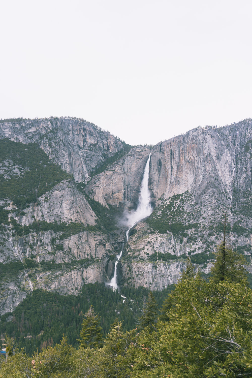 Yosemite Falls from the 4 mile trail