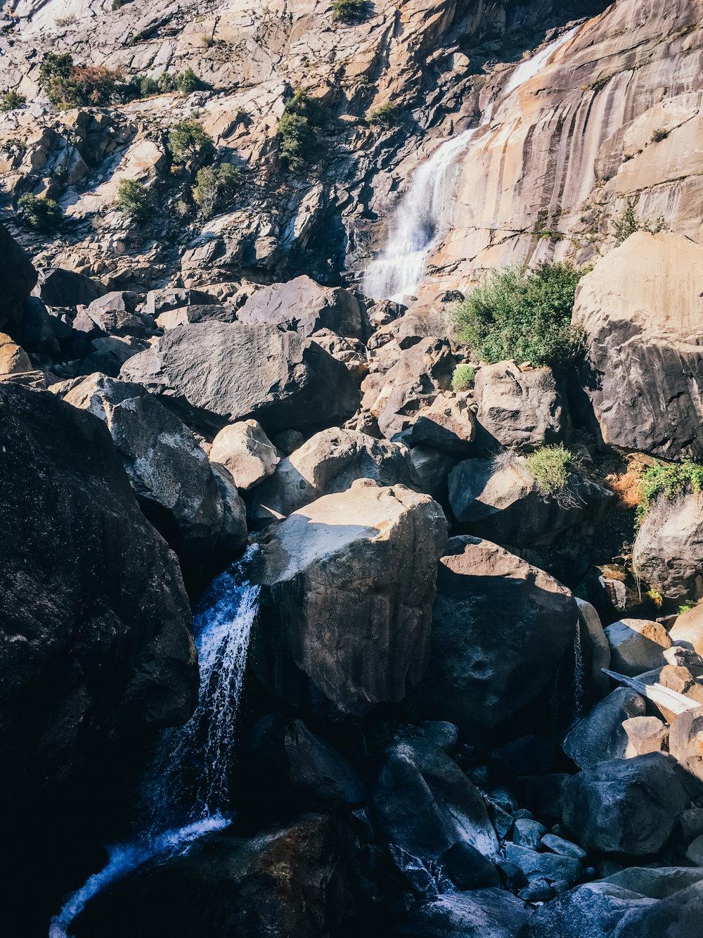 Wapama Falls (autumn)