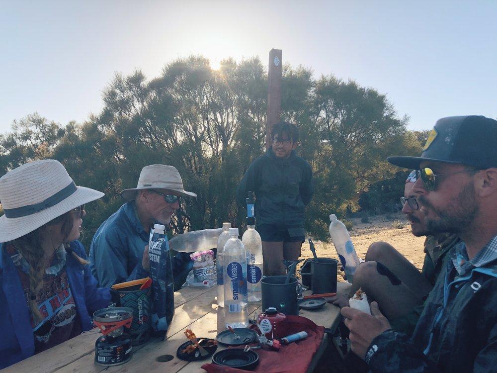 hiker trash talking about hiker stuff: food & bowel movements