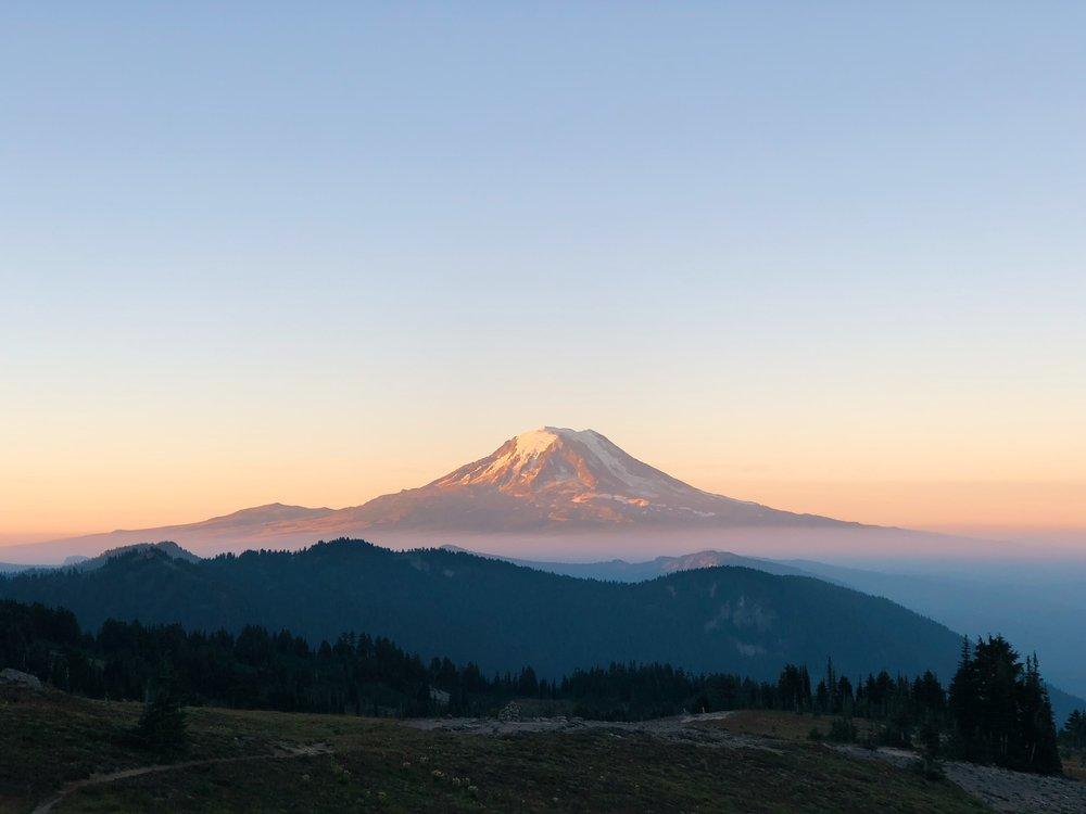 Sunrise on Mt. Adams