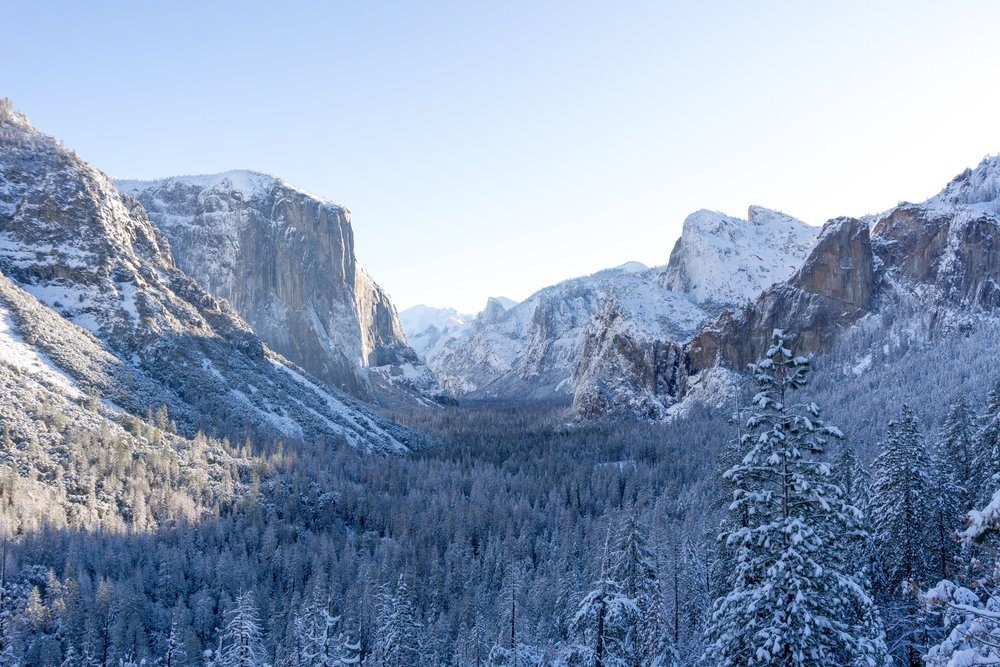 yosemite valley - Winter 2018