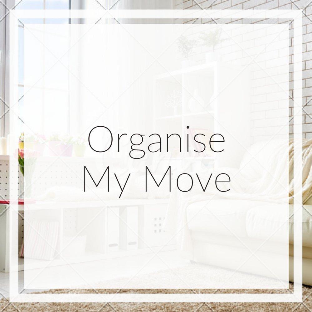 organise my move