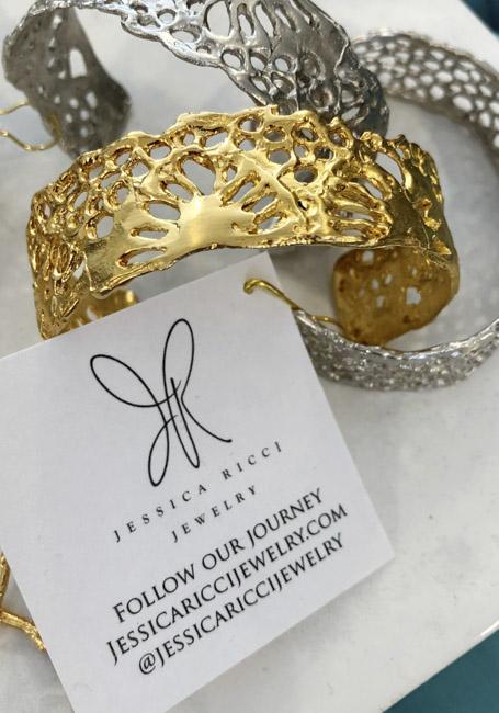 Jessica Ricci Jewelry | Lace Cuff $54
