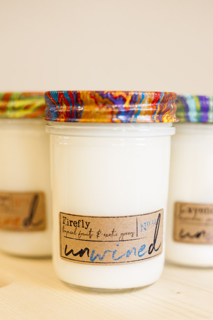 Unwined Candles | $17