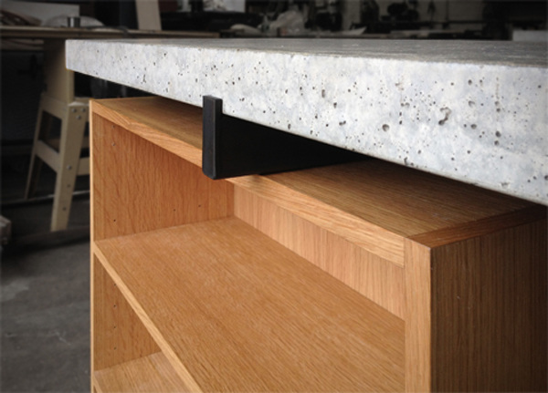 Custom Kitchen Countertop & Cabinet