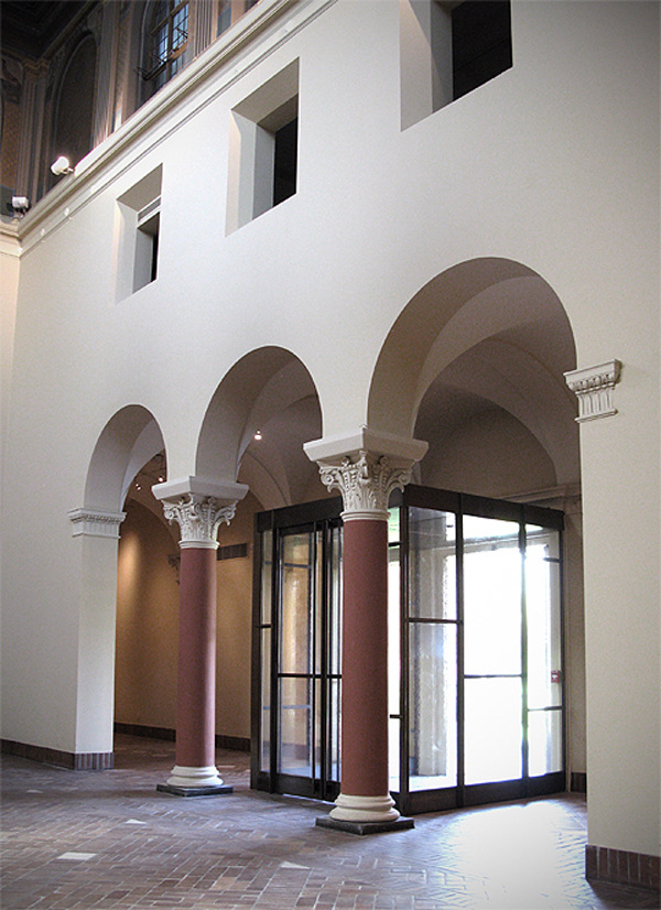 Art Museum Entry Vestibule
