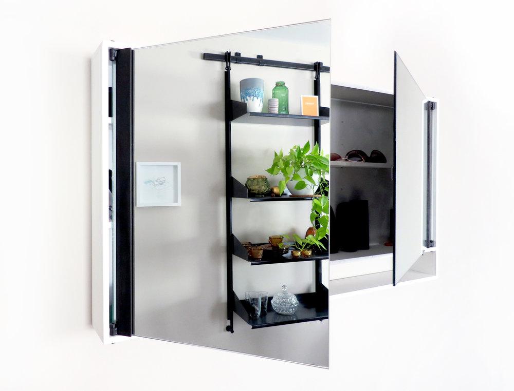 VANITY Mirrored Cabinet