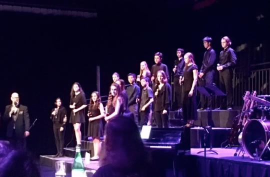Collingwood's Intermediate Chamber Choir.