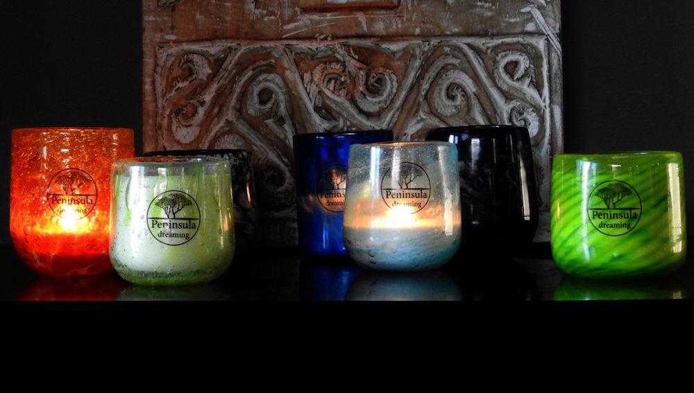 Bespoke luxury candles by Peninsula Dreaming