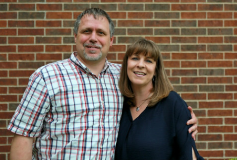 Pastor Kevin and his wife Vicki