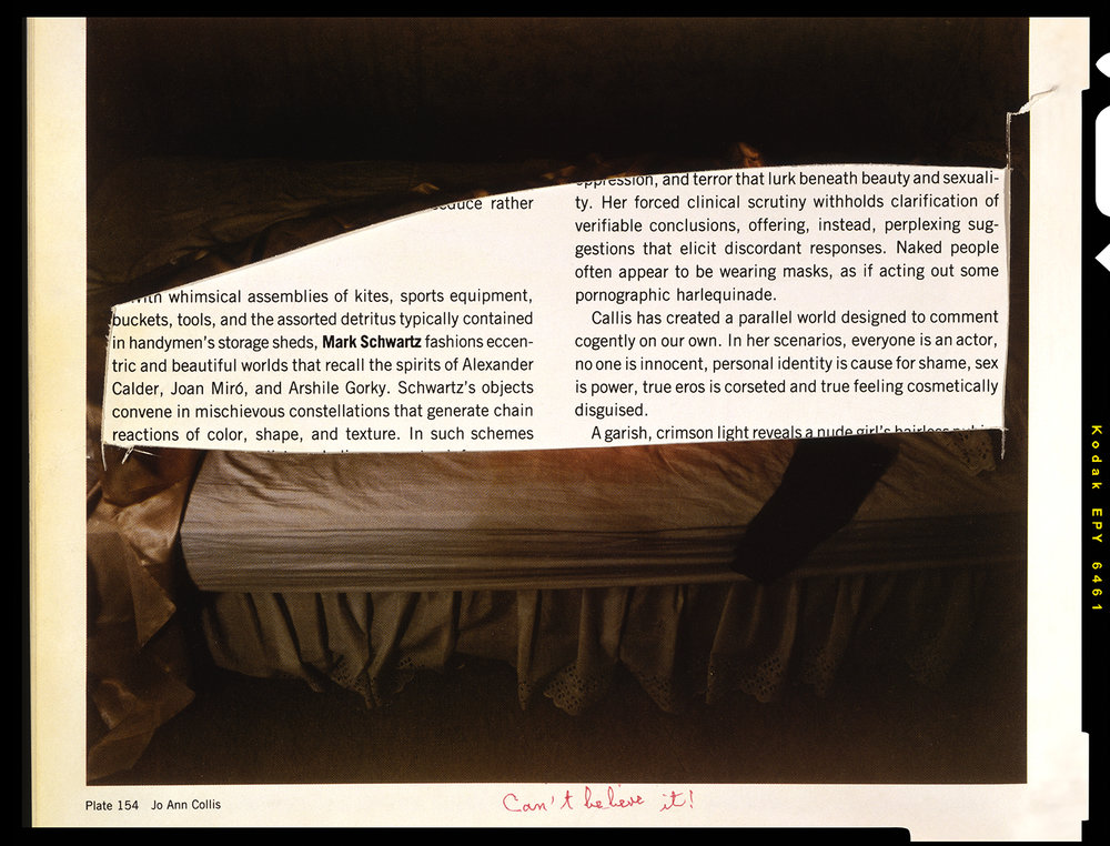 "Jo Ann Callis, ""Girl on Bed, 1977"""