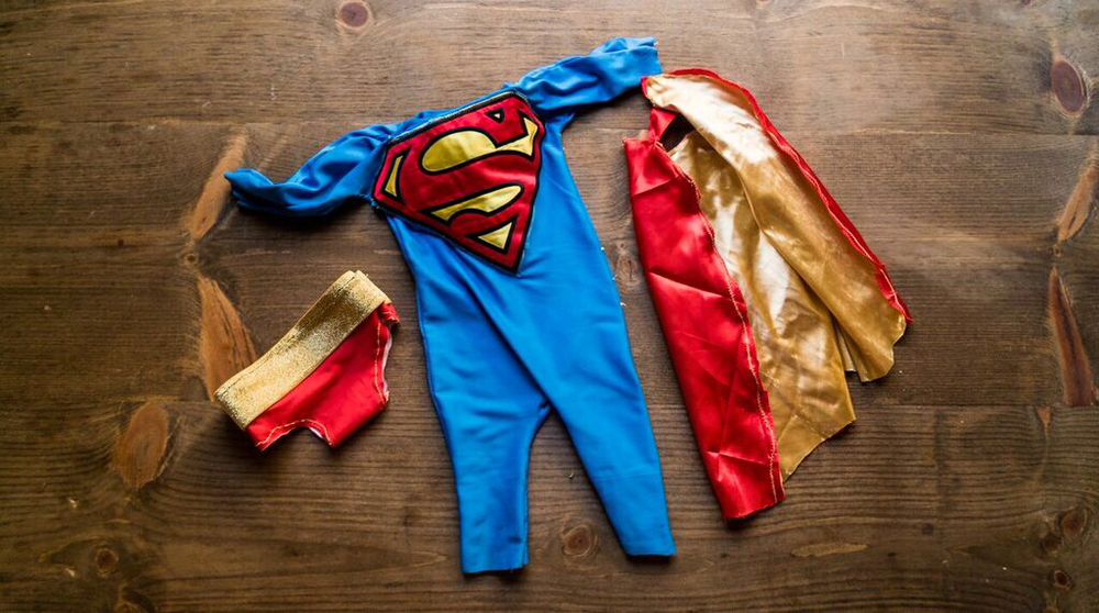 Super baby to the rescue!