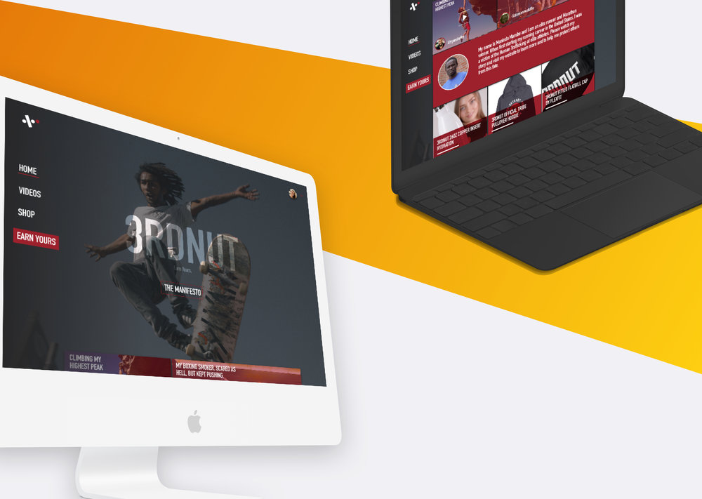3RDNUT (WEB)  Sheffer Media worked to redesign this action sports brand. The desire was to focus on both content and sales and move away from a very limited shopify site.