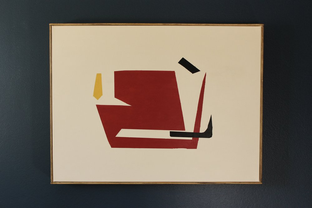 """Interrelationships"" 18 x 24 inches, acrylic on canvas"