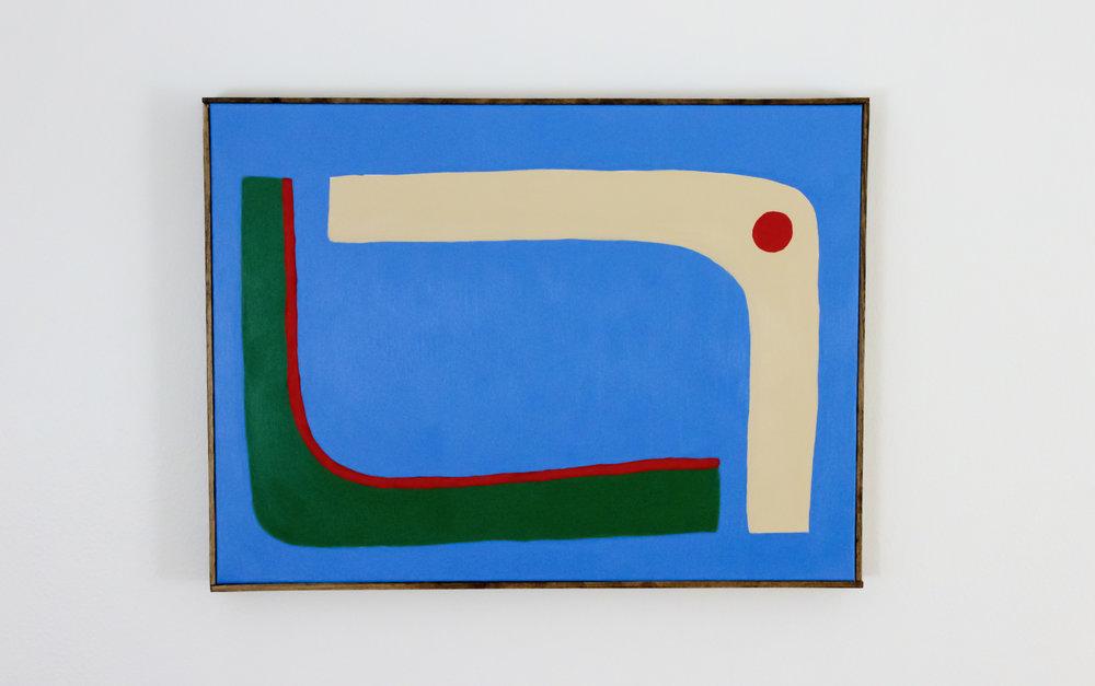 """Union"" 18 x 24 inches, acrylic on canvas, framed"