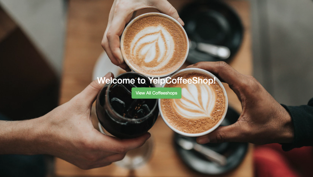 yelp coffeeshops - A Full-Stack NodeJS project built using the MEAN Stack Framework