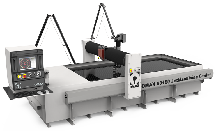 Precision Water Jet Cutting - Our machine is the OMAX 60120 water jet