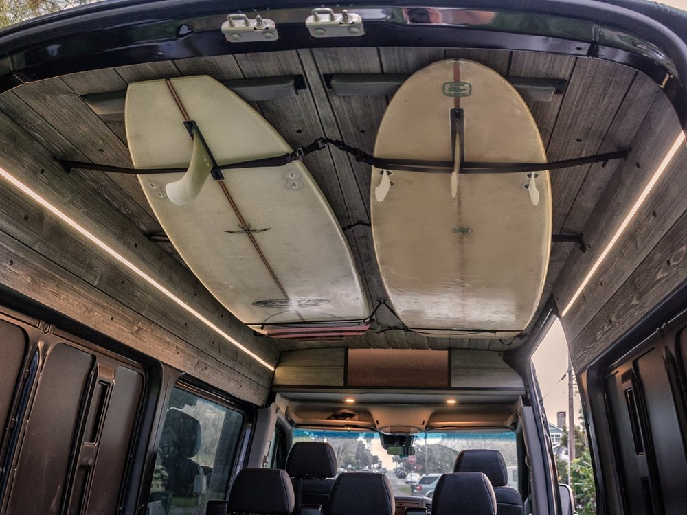 Ceiling Surf Straps