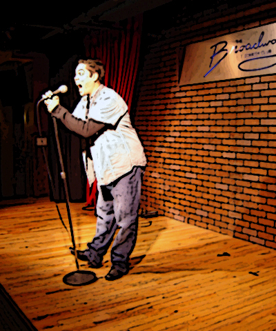 Broadway Comedy Club Stage