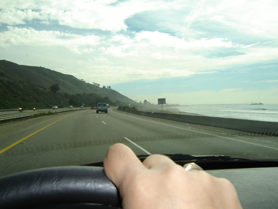 Driving on the 101