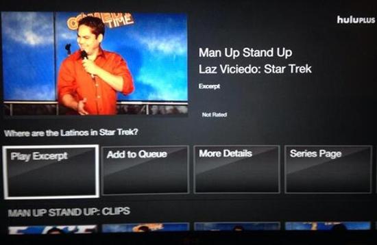 Laz on Hulu