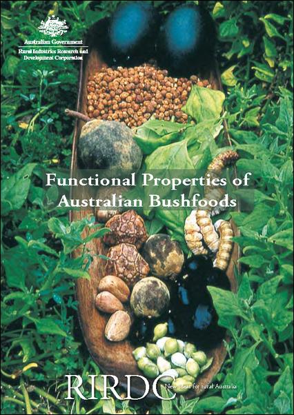 Functional Properties of Australian Bushfoods