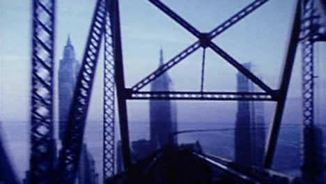 Still,  Bridges-go-round,  dir. Shirley Clarke (USA, 1958, 4m)