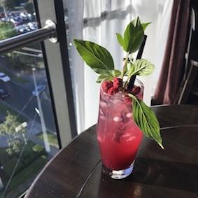 Berry & Basil Smash (Mocktail)